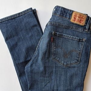 Levi 525 perfect waist straight jeans supe…